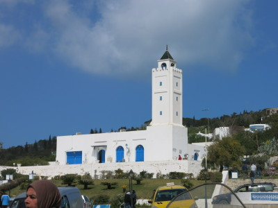 The town Mosque in Sidi Bou Said