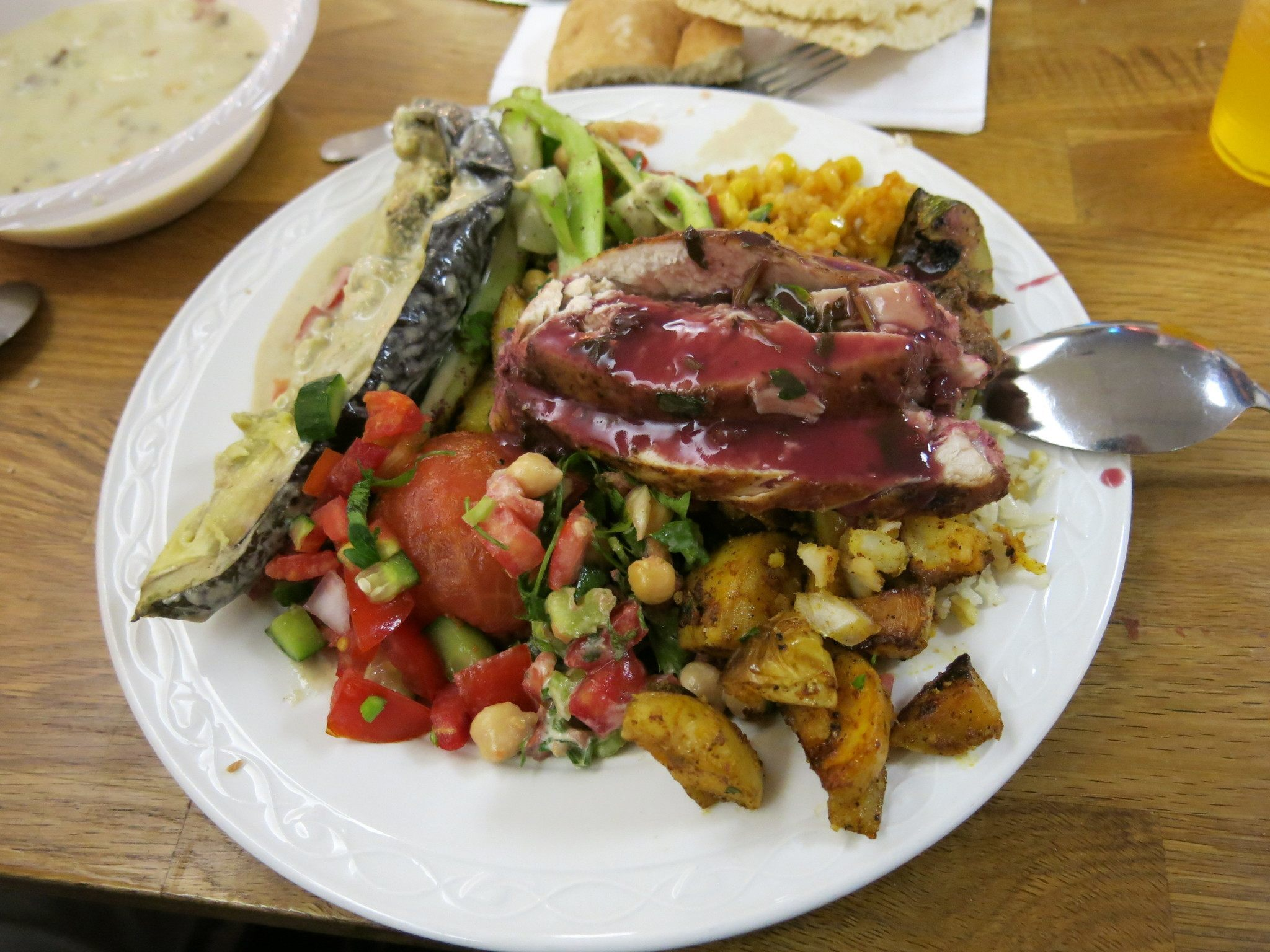 Friday's Featured Food: Shabbat Dinner in Jerusalem, Israel.