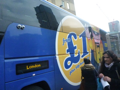 Megabus journeys from £1 in England and Scotland