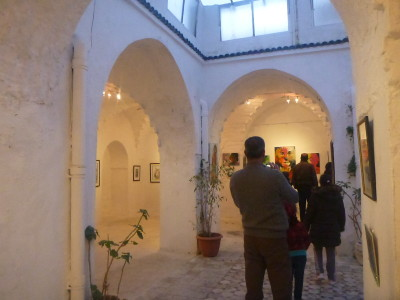 Art Gallery in Sidi Bou Said.