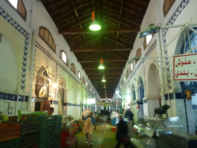 Central Market in Tunis
