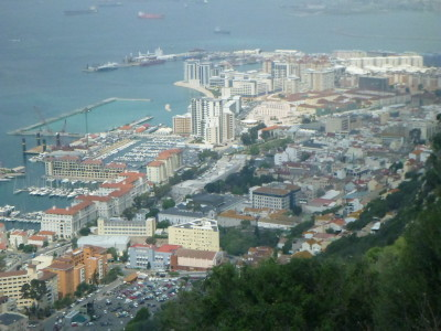 The mini country of Gibraltar