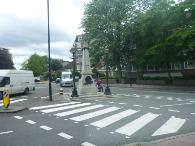Abbey Road is on the right