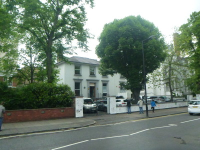 Abbey Road in London, England