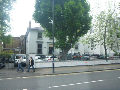 A few other travellers at Abbey Road