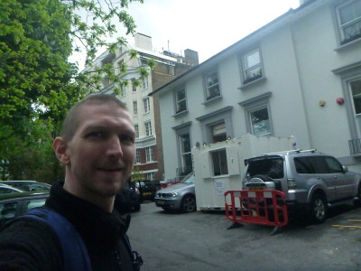 Selfie at Abbey Road Studios
