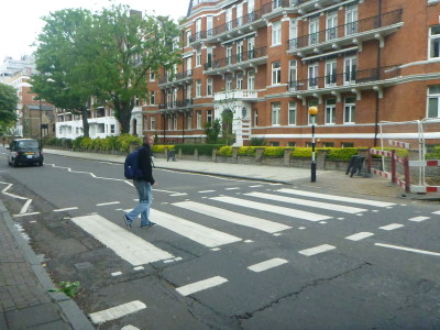 Backpacking in England: Visiting the Famous Abbey Road in St. John's Wood, London