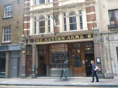 The Sutton Arms Pub