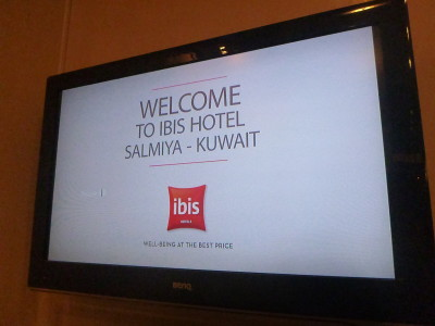 A friendly welcome at Hotel Ibis Salmiya