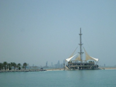 The marina in Salmiya