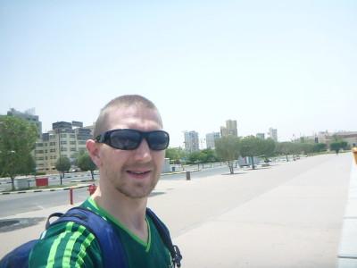 Touring Salmiya in Kuwait