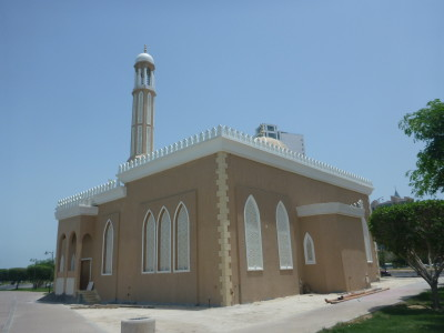 One of the Mosques near my hotel in Salmiya