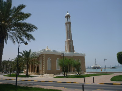 A Mosque near the Ibis Hotel Salmiya, Kuwait.
