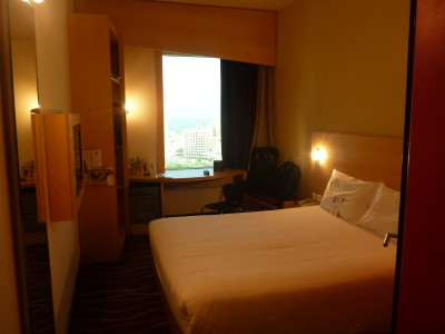 My luxury room at the Ibis Hotel Sharq
