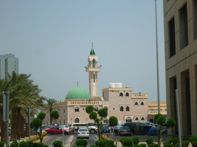 One of many Mosques in Kuwait City