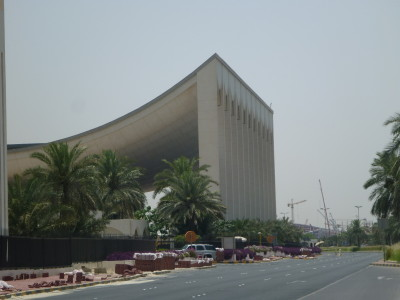 The National Assembly Building in Kuwait City
