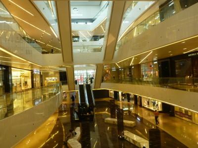 The elaborate Al Hamra Mall
