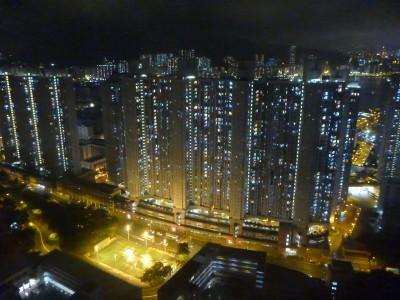 View over Yau Tong from Lam Tin, Hong Kong