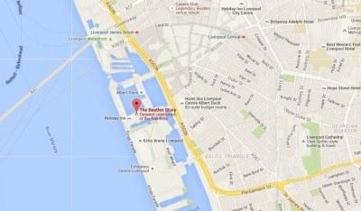 The Beatles Story is at Albert Dock