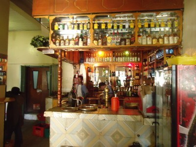 Local pub next door