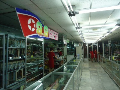 Shopping in Pyongyang, North Korea