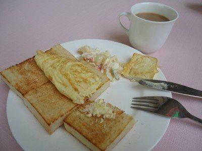 Breakfast in the Yanggakdo