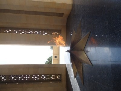 The eternal flame in Baku