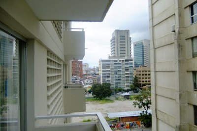 View from my hotel bedroom in Caracas, Venezuela