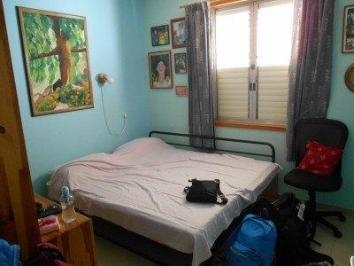 Our room in Mizra Kibbutz