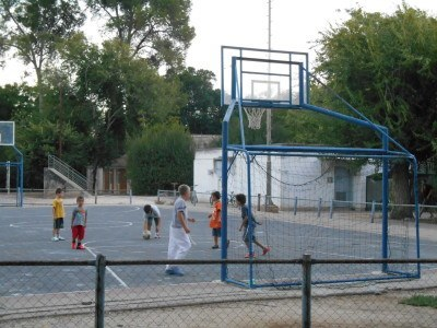 Sports at Mizra Kibbutz