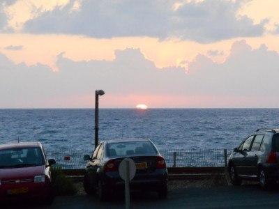 Sunset in Haifa, Israel