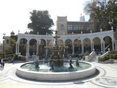 Fountains and gardens at Icari Sahar