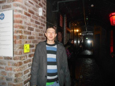 In the mock Cavern Club