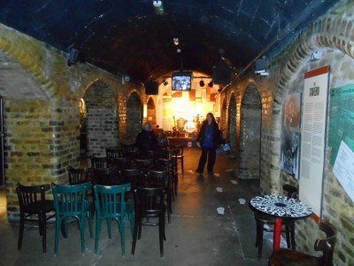 The mock Cavern Club