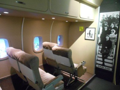 The Beatles Private Jet