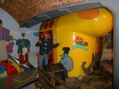 Heading into the Yellow Submarine