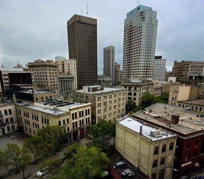 Downtown Winnipeg, Manitoba, Canada