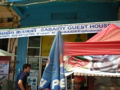 Backpacking in Laos: Staying at Sabaidy Guest House in Vientiane