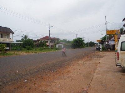The road to Phon Hong, Laos