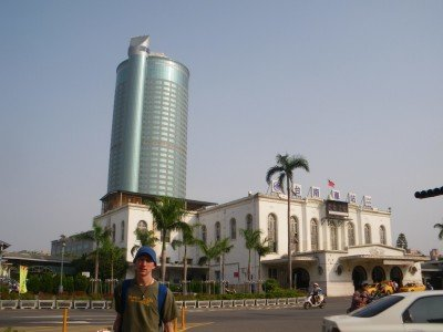 Backpacking in Tainan, the former Taiwanese capital city
