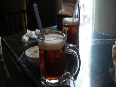 My tea in Hanlin Tea Rooms, Tainan
