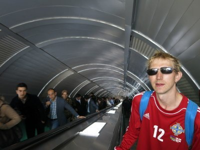 On the metro system in Baku, Azerbaijan