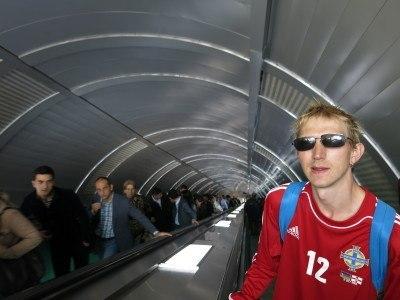 On the metro system in Baku, Azerbaijan