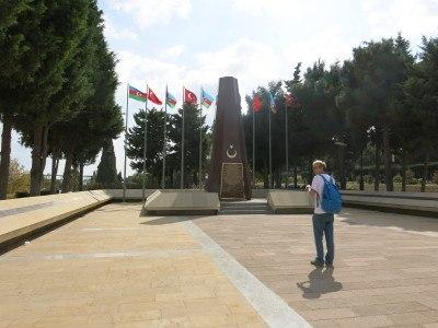 Martyrs Lane (Sahidler Xiyabani), Baku, Azerbaijan