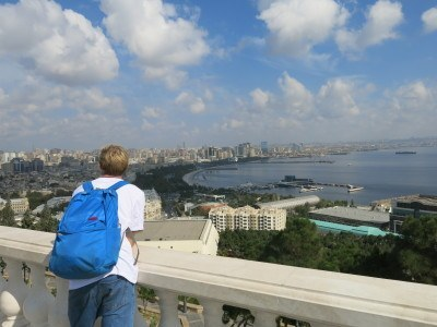 Backpacking in Baku, Azerbaijan