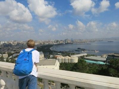Backpacking in Baku, Azerbaijan