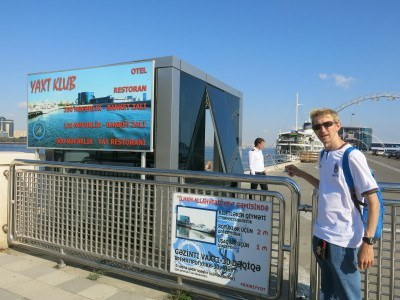 The place to buy your tickets for the Caspian Cruise.