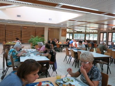 The Canteen in Mizra Kibbutz