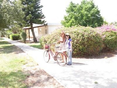 Panny and Mayrav in Mizra Kibbutz