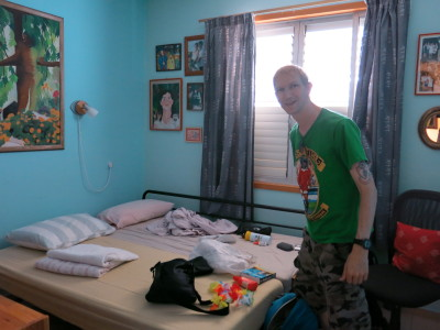 Our room in Mizra Kibbutz